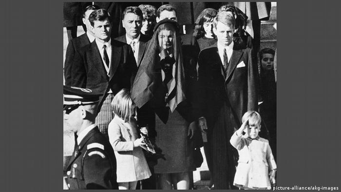 USA Beerdigung von John F. Kennedy in Washington (picture-alliance/akg-images)