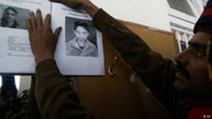 Indien Kaschmir Festnahme von Terrorverdächtigen