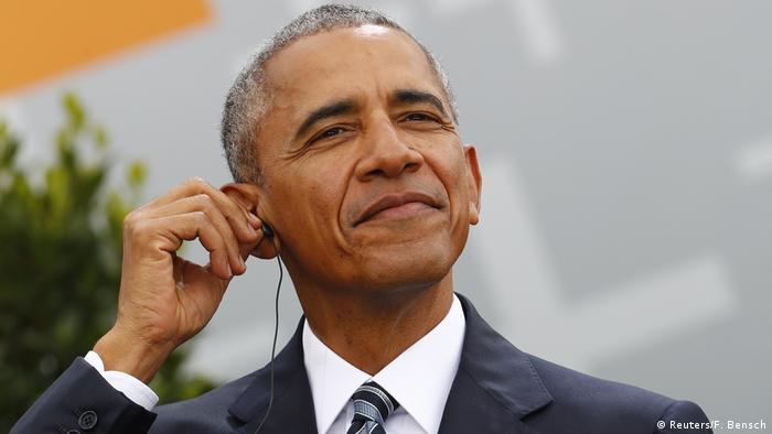 Deutschland 36. Evangelischer Kirchentag in Berlin - Barack Obama (Reuters/F. Bensch)
