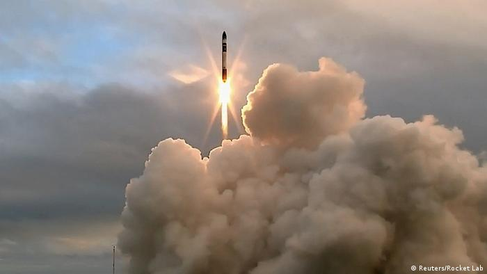 Neuseeland - Rocket Lab - Rakete