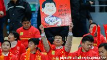 China Fussball | Fan
