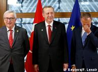 Дональд Туск, Жан-Клод Юнкер і Реджеп Таїп Ердоган провели зустріч у Брюсселі