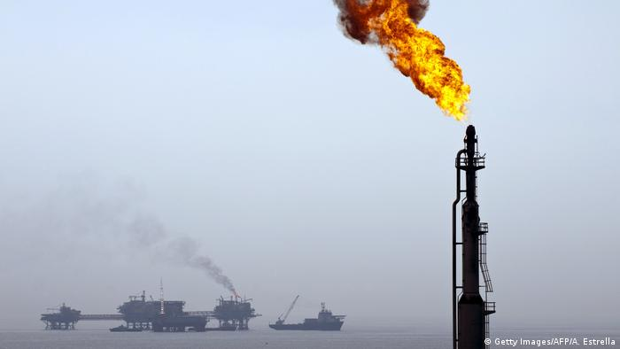 Mexiko Ölbohrinsel - Pemex (Getty Images/AFP/A. Estrella)
