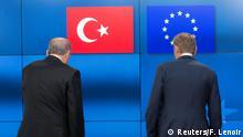Belgien Tusk empfängt Erdogan in Brüssel