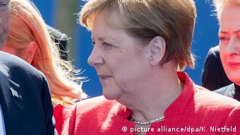 Belgien NATO-Gipfel   Angela Merkel