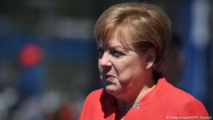Belgien NATO-Gipfel | Angela Merkel (Getty Images/AFP/E. Dunand)