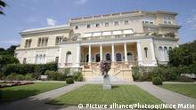 Luxusvilla in Nizza Villa Leopolda Villa Les Cedres