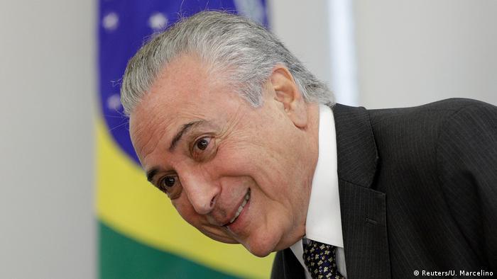 Brasil: Onde presidente Temer se escora para não cair