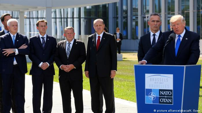 Belgien NATO-Gipfel Rede Trump