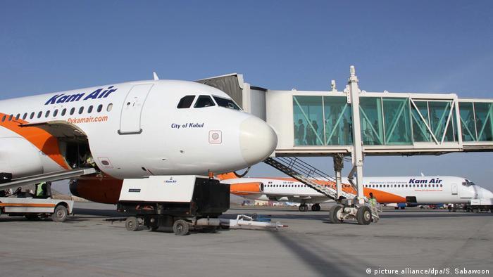 هواپیمای شرکت هوایی کام ایر افغانستان