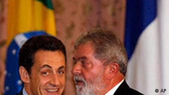 Staatsbesuch Sarkozy in Brasilien mit Lula da Silva
