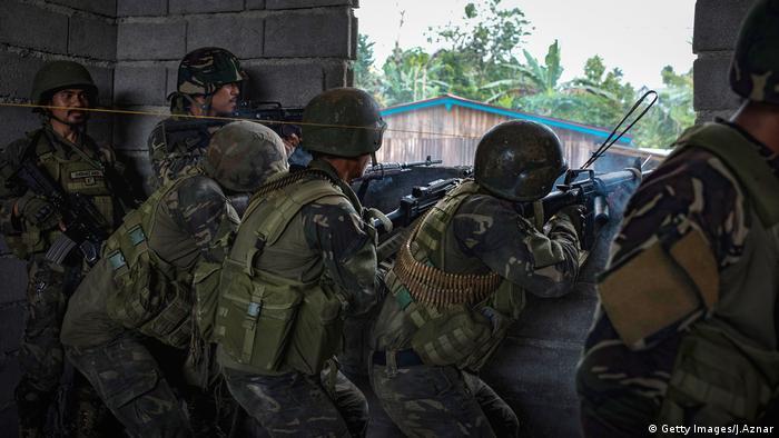 Philippinen Soldaten IS