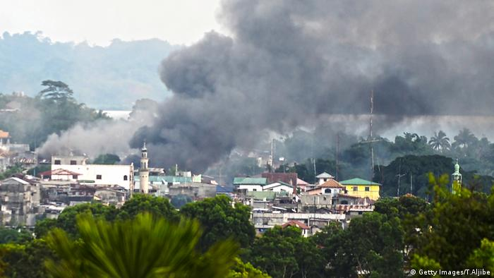 Unruhen Philippinen Militär IS Marawi (Getty Images/T.Aljibe)