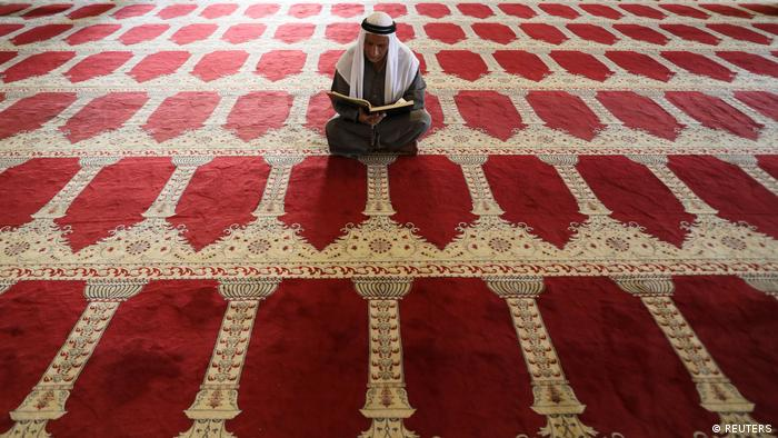 Palästina Gebet in Al Aqsa Mosche (REUTERS)
