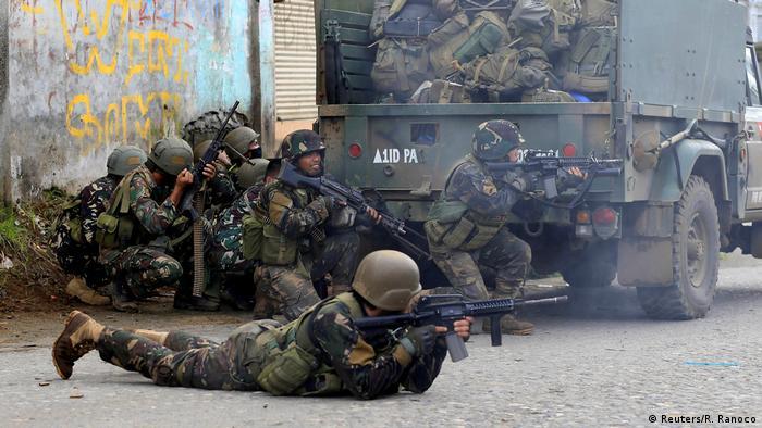 Philipinnen Kämpfe bei Marawi