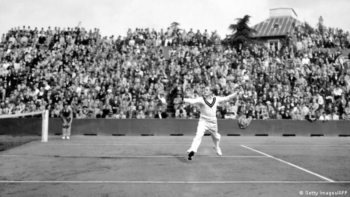 Gottfried von Cramm Tennis 1936 (Getty Images/AFP)