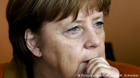 Trump Merkel (Picture alliance/AP Photo/M. Schreiber)