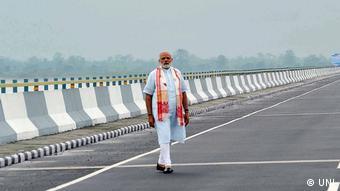 Моди открывает новый мост в провинции Ассам
