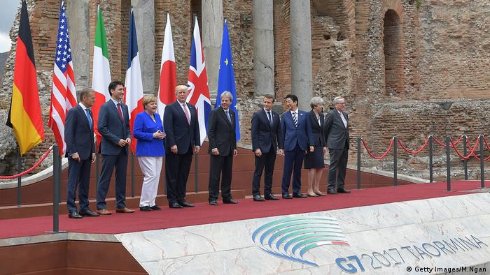 G7 Gipfel Italien Gruppenfoto (Getty Images/M.Ngan)