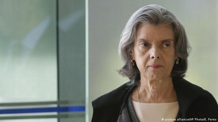 Brasilien Mgliche Temer-Nachfolger   Justice Carmen (picture alliance/AP Photo/E. Peres)