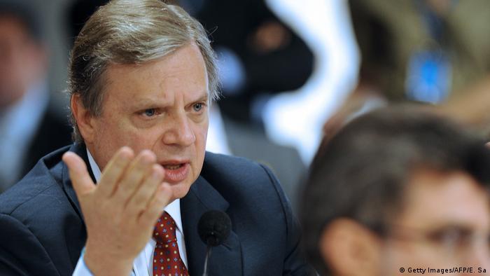 Brasilien Mgliche Temer-Nachfolger   Tasso Jereissati (Getty Images/AFP/E. Sa)