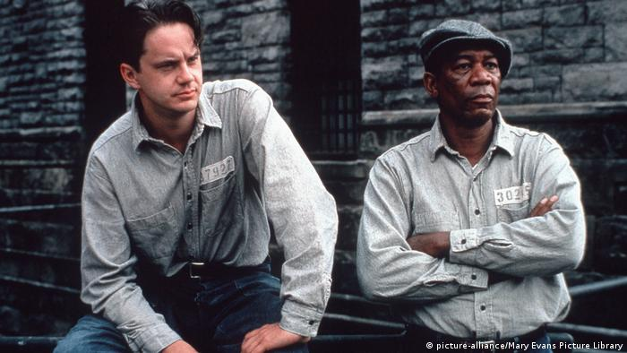 Morgan Freeman   The Shawshank Redemption (picture-alliance/Mary Evans Picture Library)