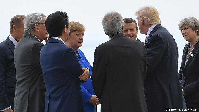 G7 Gipfel Gruppe (Getty Images/M.Ngan)
