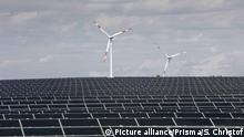 Neue Technologien Solarzellen Windkraft (Picture alliance/Prisma/S. Christof)