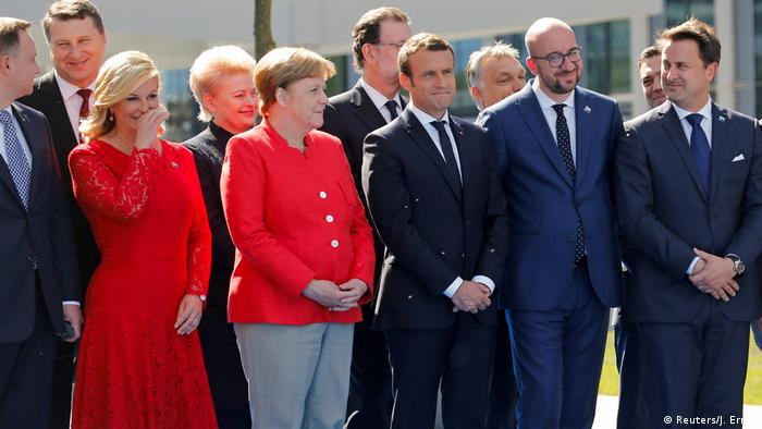 Belgien NATO-Gipfel (Reuters/J. Ernst)