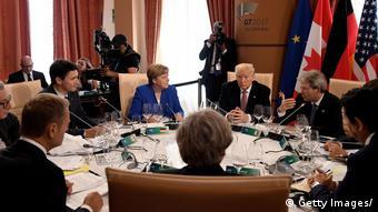 Με στόχο έναν συμβιβασμό συνεχίζονται οι εργασίες της συνόδου των G7 (Getty Images/)