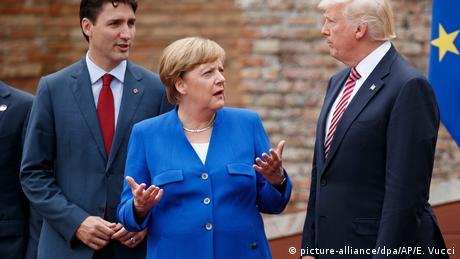 G7-Gipfel in Sizilien (picture-alliance/dpa/AP/E. Vucci)