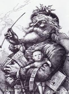 El Santa Claus de Thomas Nast.