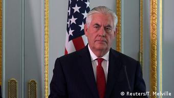 London US-Außenminister Tillerson mit Johnson