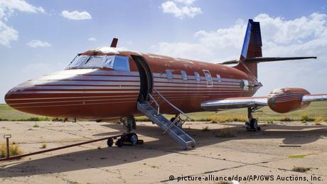 USA Elvis` Privatjet kommt unter den Hammer (picture-alliance/dpa/AP/GWS Auctions, Inc.)