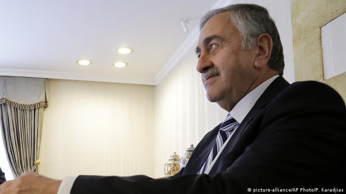 Espen Barth Eide / Mustafa Akinci (R) türkisch-zypriotisch türkischer Teil Zypern