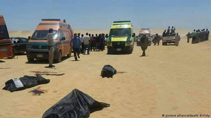 26 Tote bei Angriff auf Bus mit Christen in Ägypten in der Nähe der Stadt Al-Minja