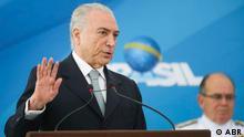 Der brasilianische Präsident Michel Temer