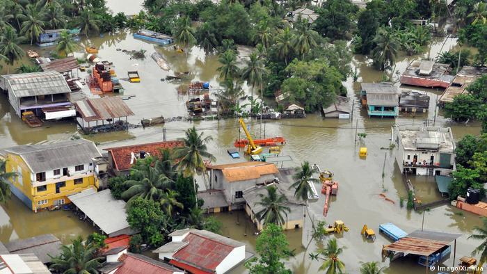 Überschwemmungen in Sri Lanka (Imago/Xinhua)
