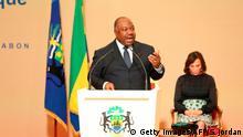 Gabun Präsident Bongo Poltischer Dialog