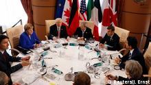 G7 Treffen in Taormina Sizilien Italien