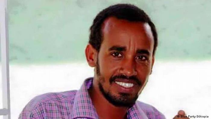 Äthiopien Journalist Getachew Shiferaw (Blue Party Ethiopia )