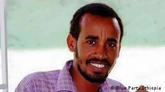 Äthiopien Journalist Getachew Shiferaw