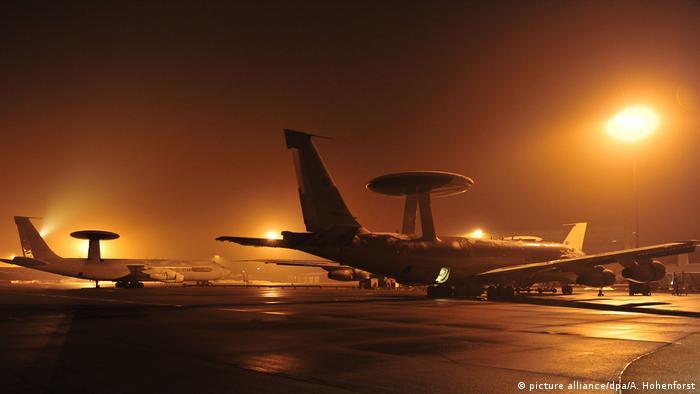 Літаки AWACS на базі НАТО в турецькій Коньї (архівне фото)