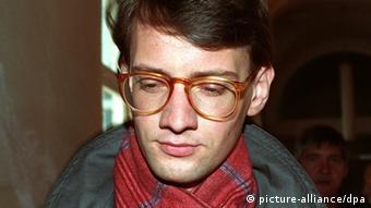 Ο Ματίας Ρουστ λογοδοτεί το 1991 στο Αμβούργο για απόπειρα ανθρωποκτονίας (picture-alliance/dpa)