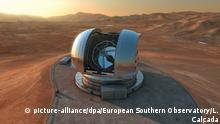 Chile Extremely Large Telescope (ELT) (picture-alliance/dpa/European Southern Observatory/L. Calçada)