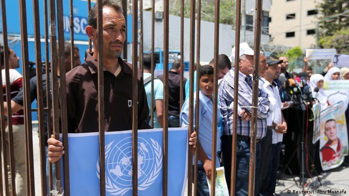 Hungerstreik Palestinänser in israelischer Haft