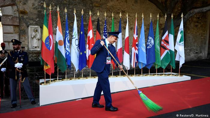 G7 Gipfeltreffen in Taormina Italien
