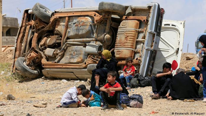 Mosul Irak Flüchtlinge (Reuters/A. Al-Marjani)