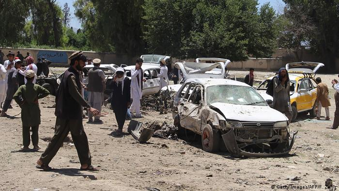 Afghanistan Anschlag Autobombe Selbstmordattentat in Khost (Getty Images/AFP/F. Zahir)