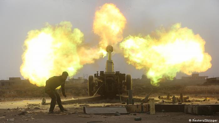 Irak Kämpfe im Westen von Mosul (Reuters/Stringer)
